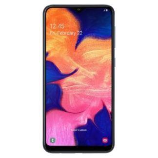 Samsung A10 синий