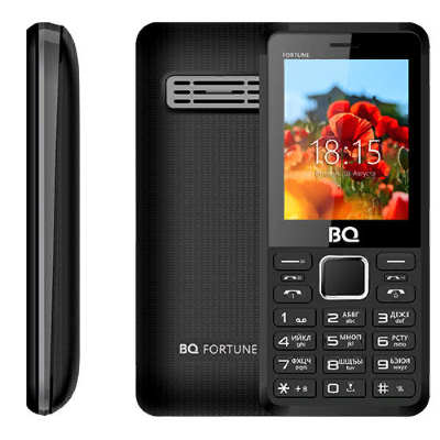 BQ 2436 Fortune черный с серым