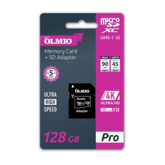Карта памяти Olmio Micro-SD 128Gb