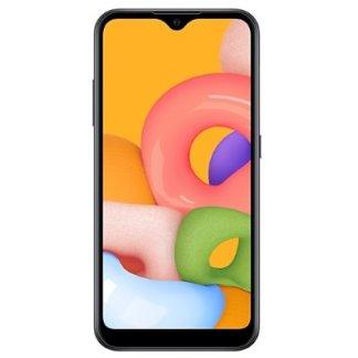Samsung Galaxy A01 черный