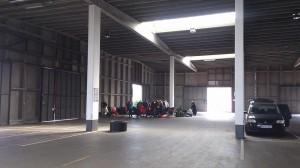 in garage 2