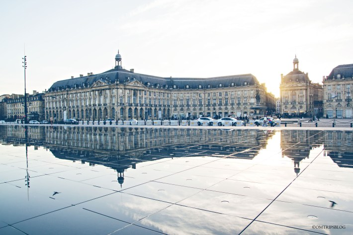 mirroir d'eau bordeaux