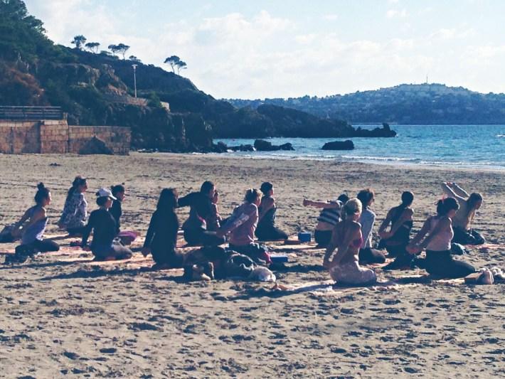 Mallorca Beach Inbound Yoga