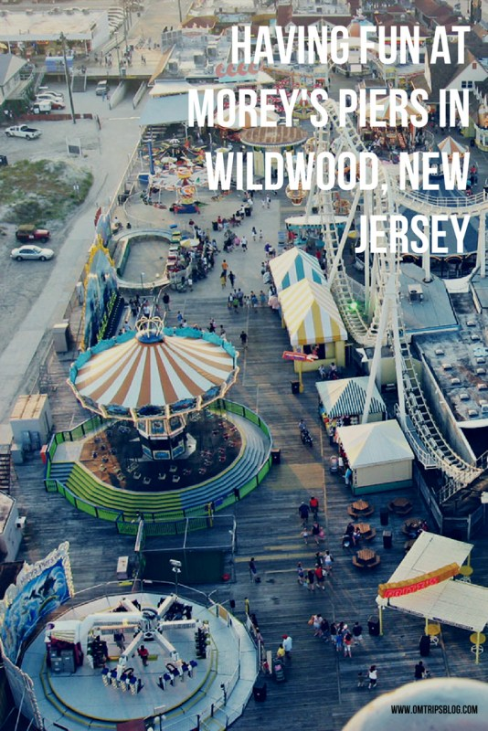 Having fun at Morey's Piers in Wildwood, New Jersey-2