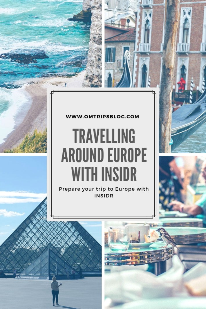 Travelling around Europe with INSIDR
