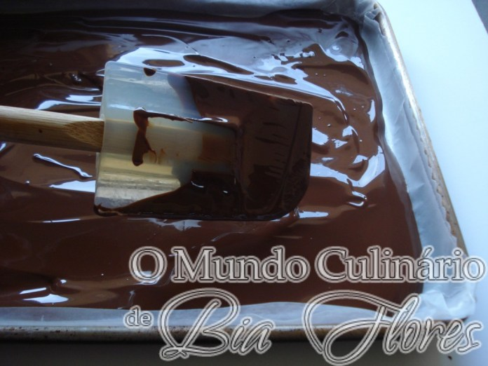 chocolate marmorizado