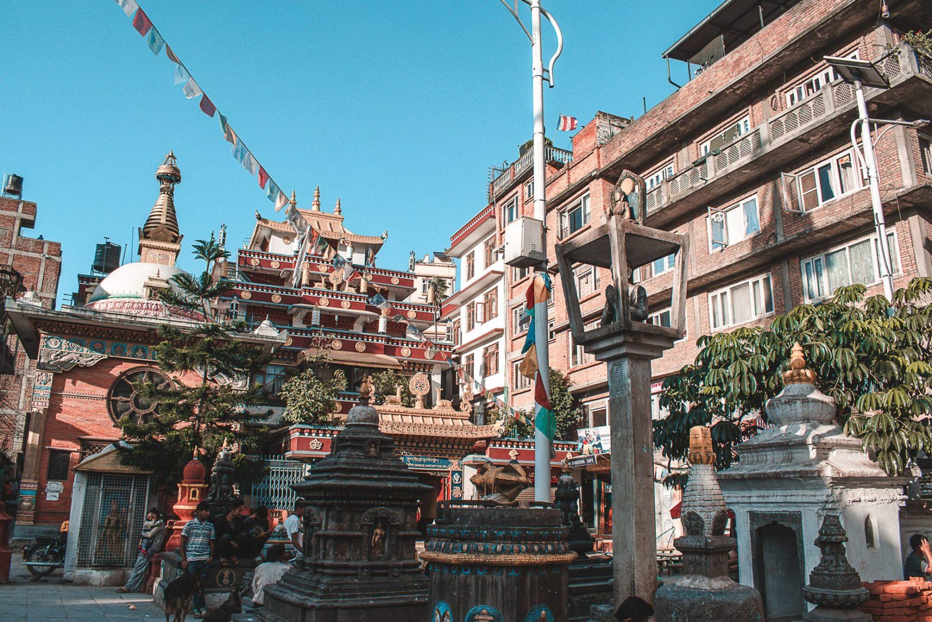 Roteiro em Kathmandu