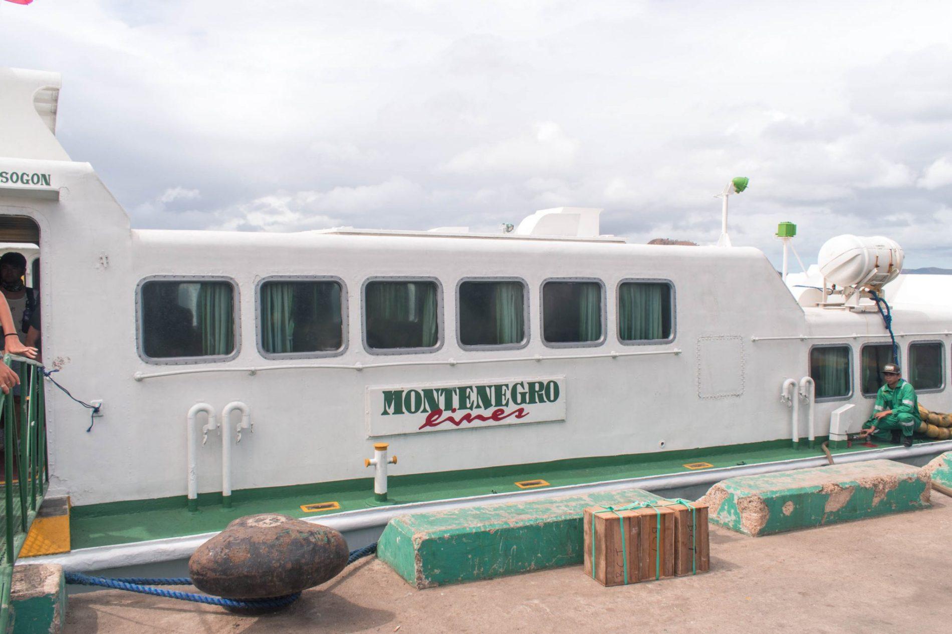 Ferry boat entre El Nido e Coron
