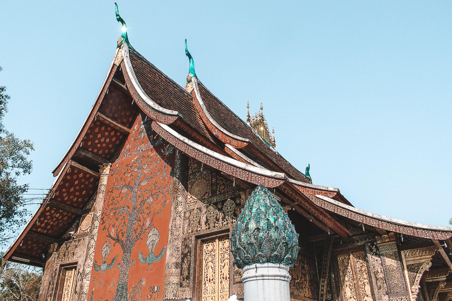Templos em Luang Prabang