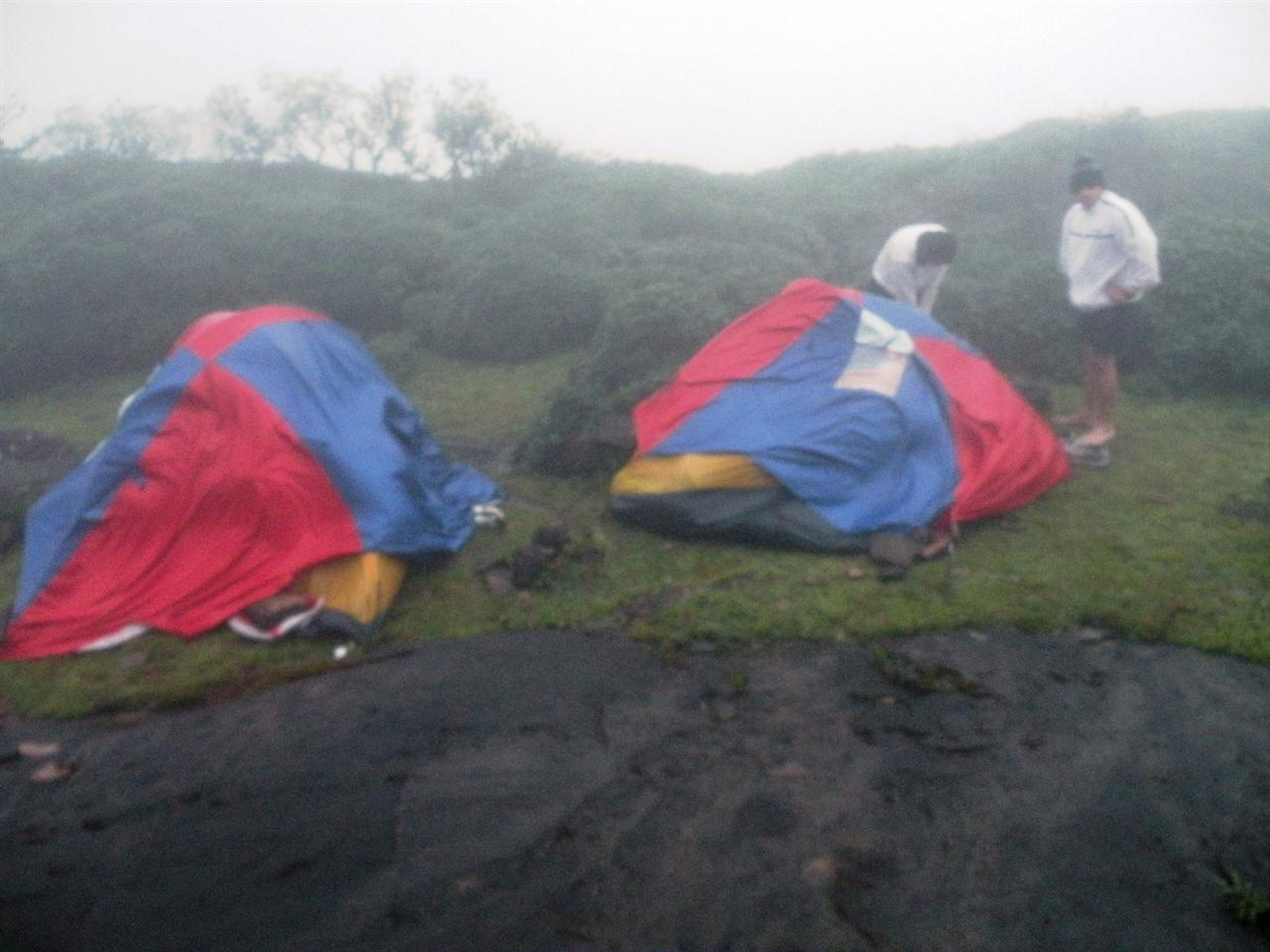 Survived tent n thus us. They faced the real real brunt of wind for over 12 hrs