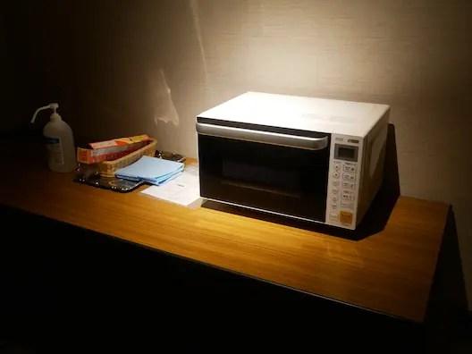 富士マリオットホテル山中湖 電子レンジ
