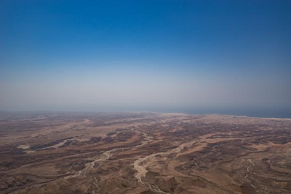 Aussicht vom Berg Jebel Samhan