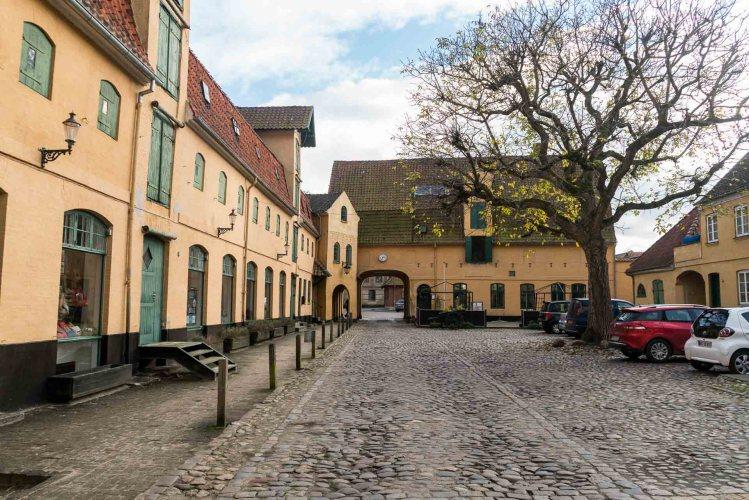 Der ehemalige Hof der Kaufmannsfamilie Plum