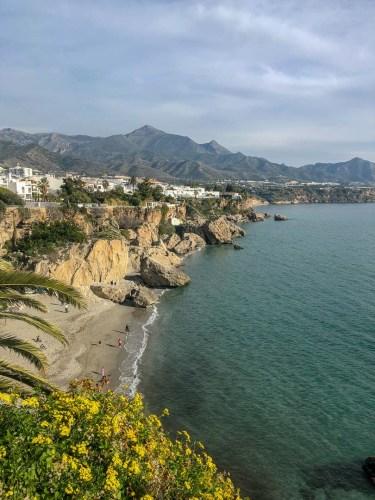 Nerja in Andalusien