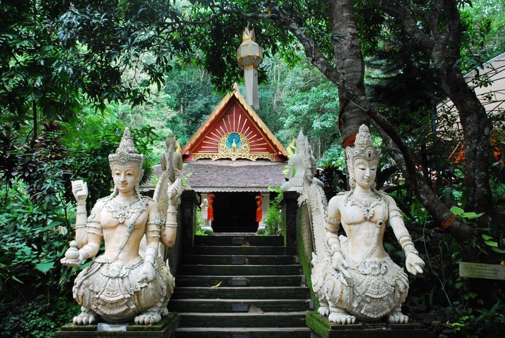 Templos de Chiang Mai: Wat Pha lat