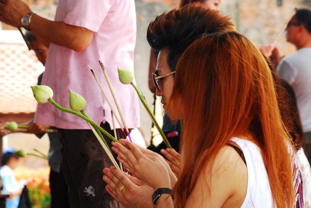 Ayutthaya en un día: budas