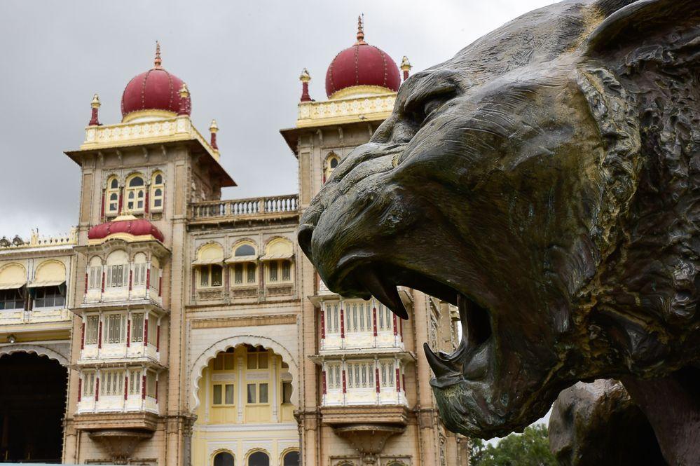 el palacio de mysore India