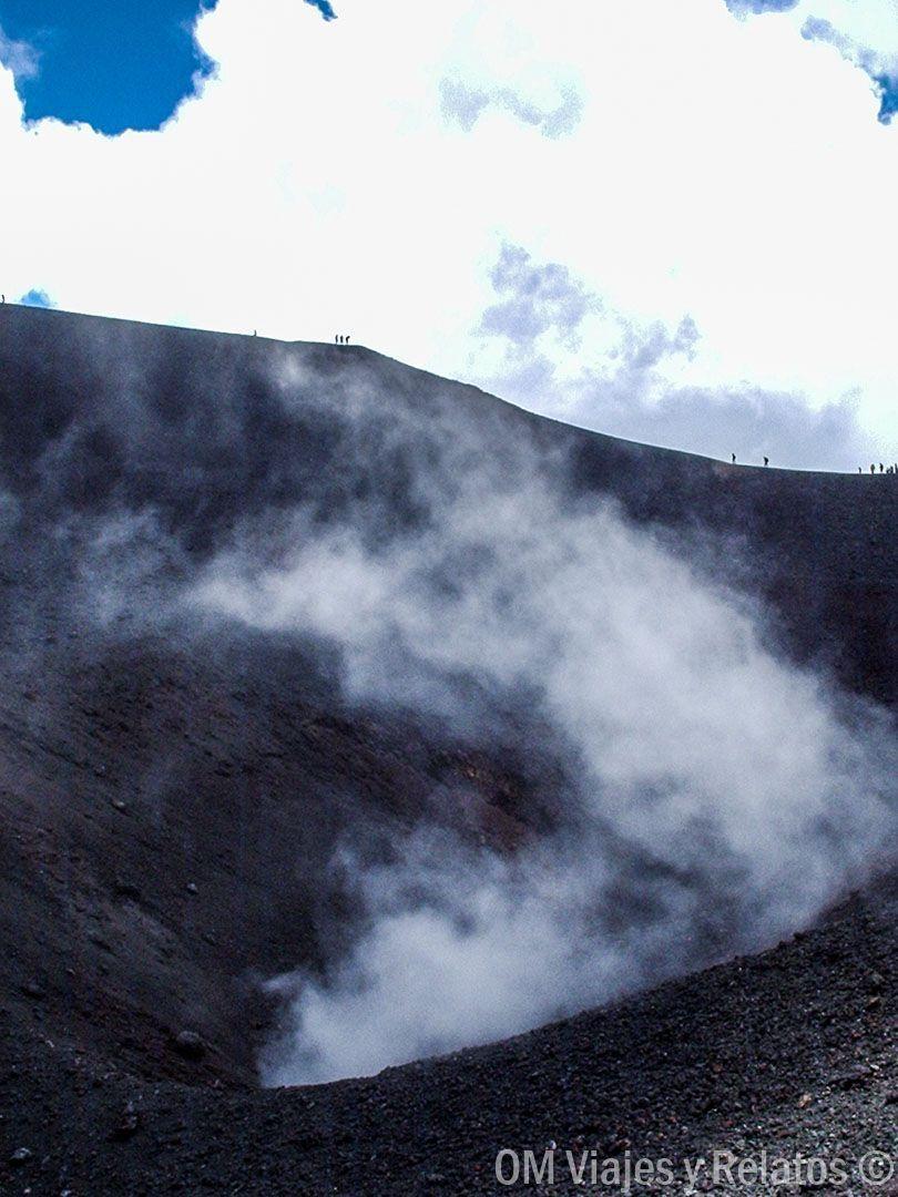 volcán Etna