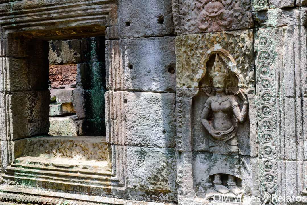 Apasaras o danzantes de Angkor