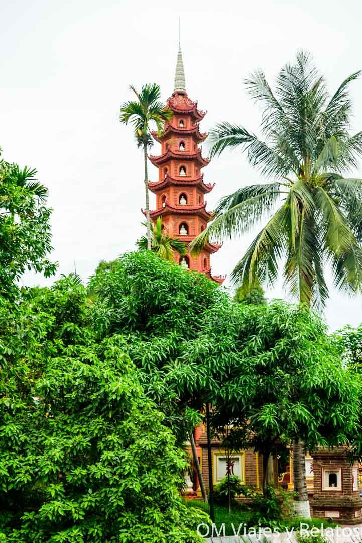 Qué ver en Hanoi: la pagoda de Tran Quoc
