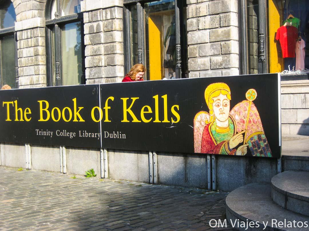 que ver en Dublin Libro de Kells