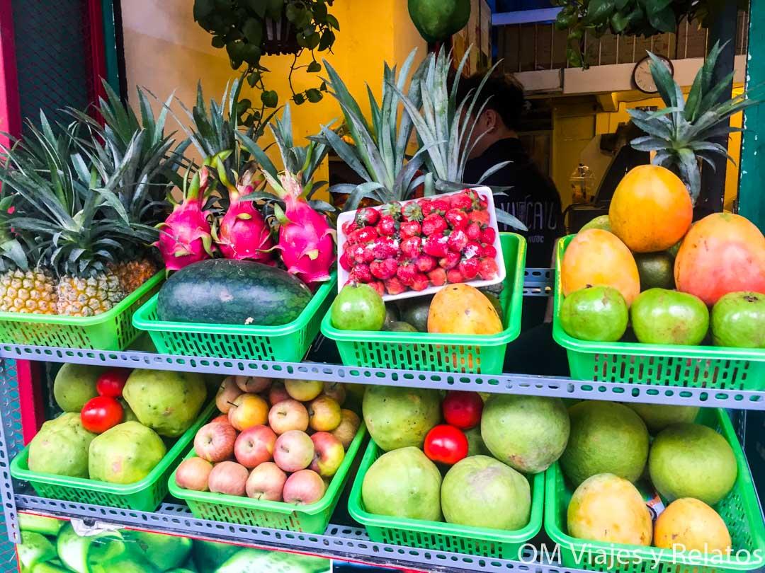 Hanoi frutas
