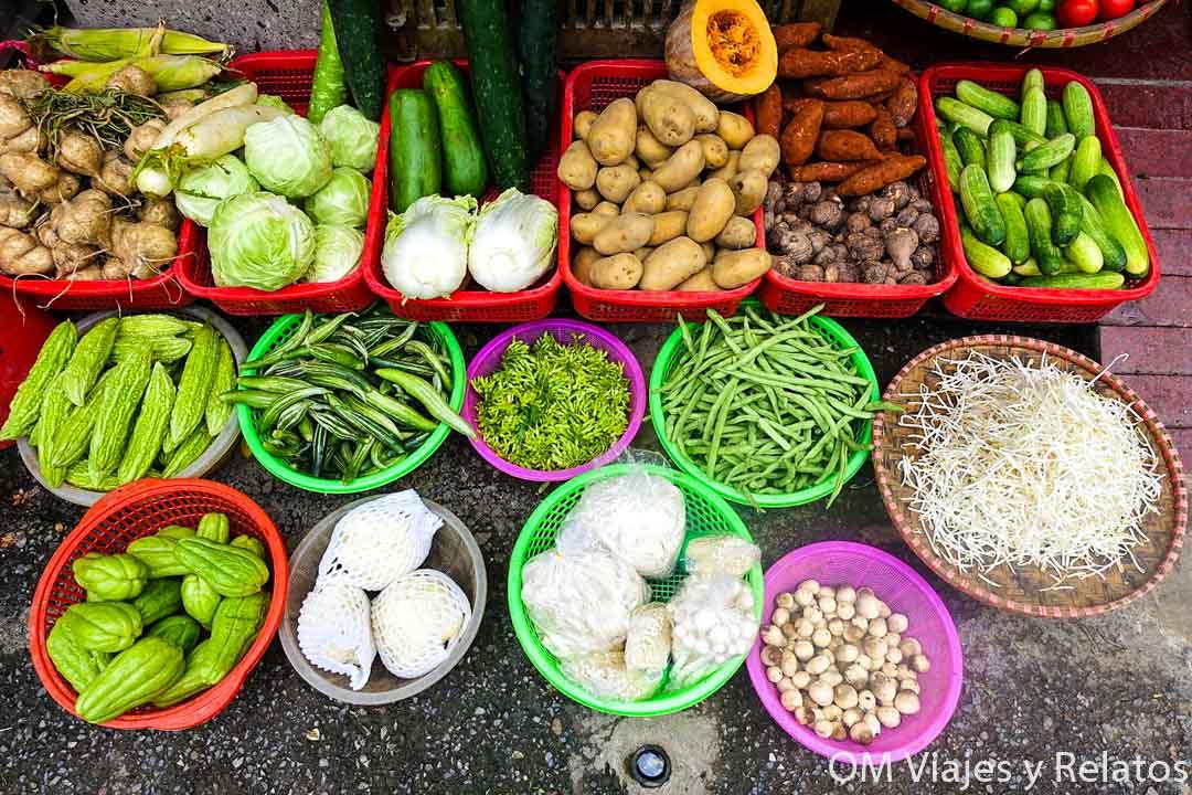 mercados de Hanoi