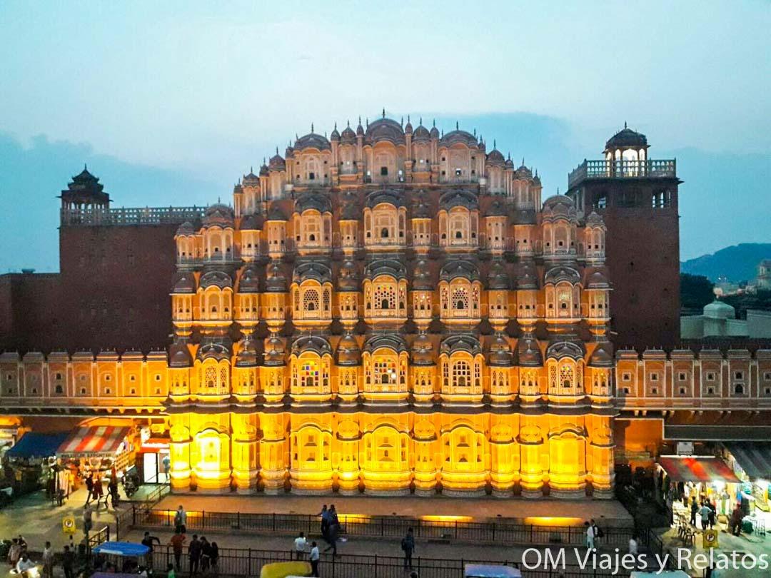 Jaipur-Palacio-de-Los-Vientos-India