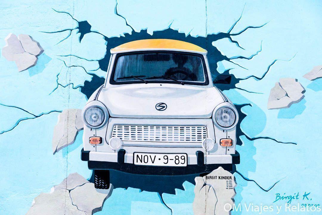 Graffiti-muro-Berlín-Trabi