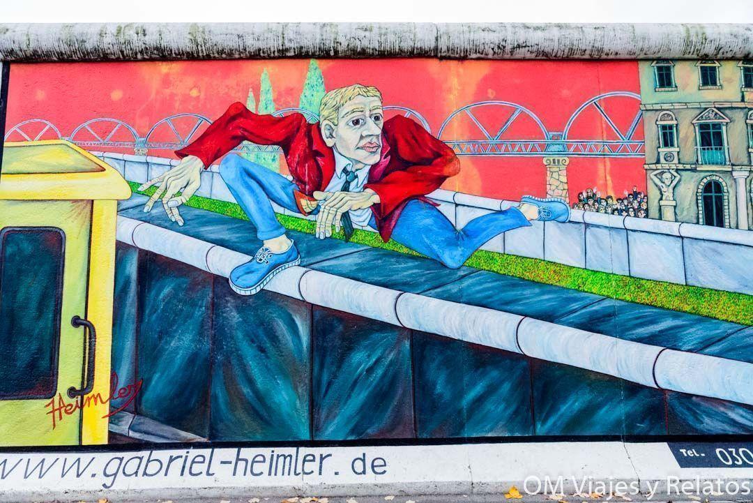 Graffitis-Muro-Berlin