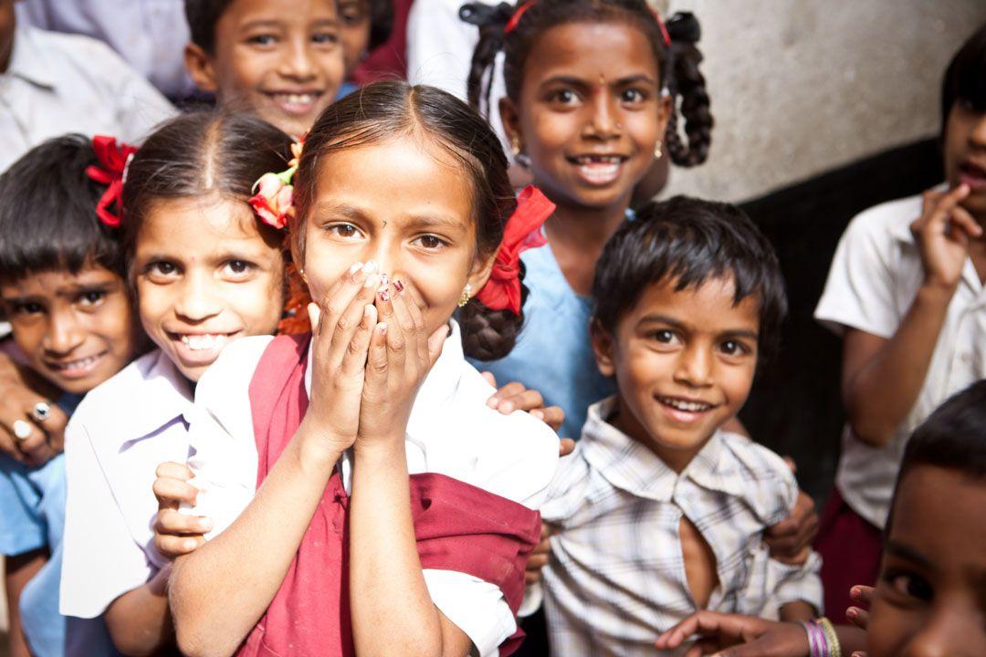 niños-India
