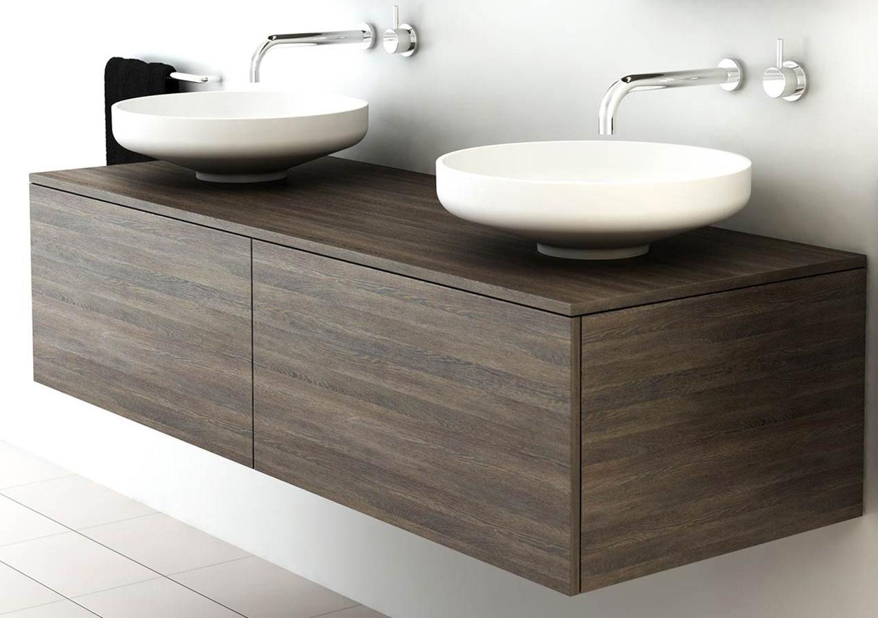Omvivo Venice 1500 Double Cabinet Bathroom Furniture