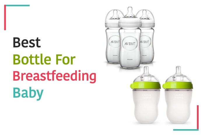 best bottle for breastfeeding babies