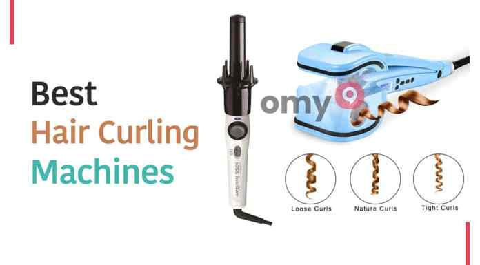 hair curling machine price