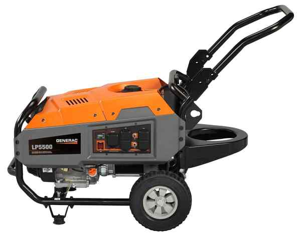 Generac Propane Powered Portable Generator
