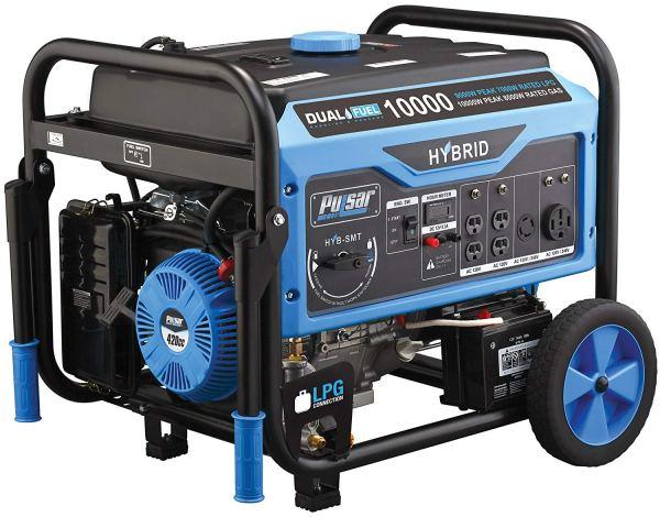 Pulsar portable propane generator