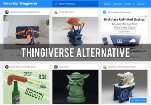 Best Thingiverse Alternative