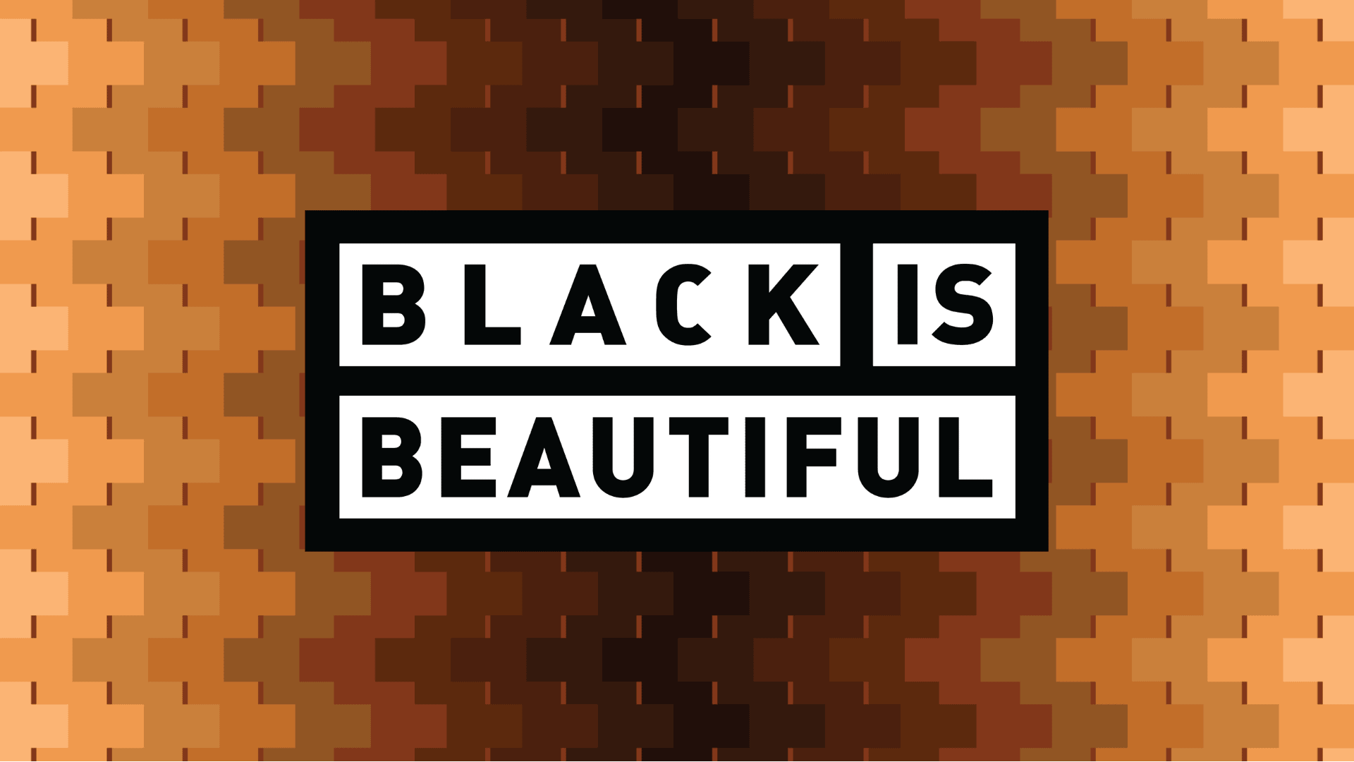 Black is Beautiful Label Banner