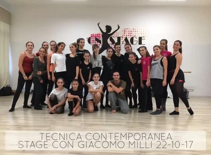 Danza Contemporanea con Giacomo Milli 22.10.2017