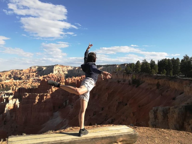Camilla - Bryce Canyon National Park.