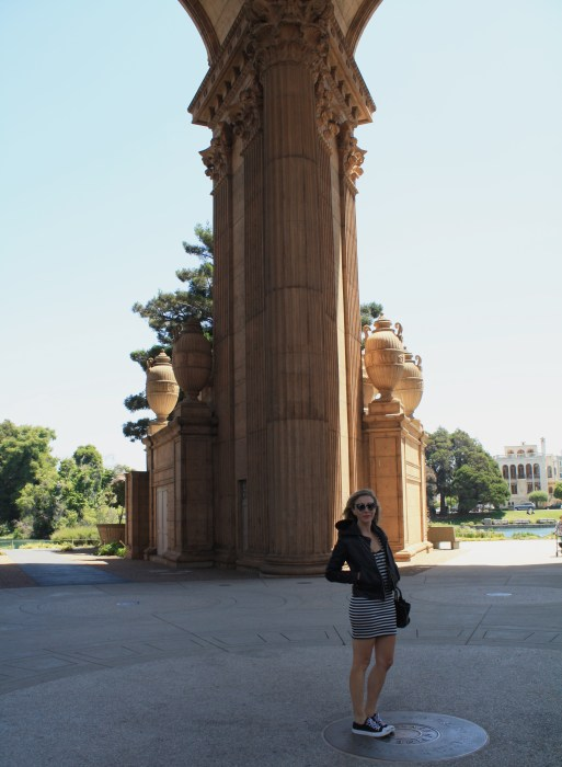 Stripes, Green, Palace of Fine Arts, San Francisco, Converse, Chucks, California, Travel