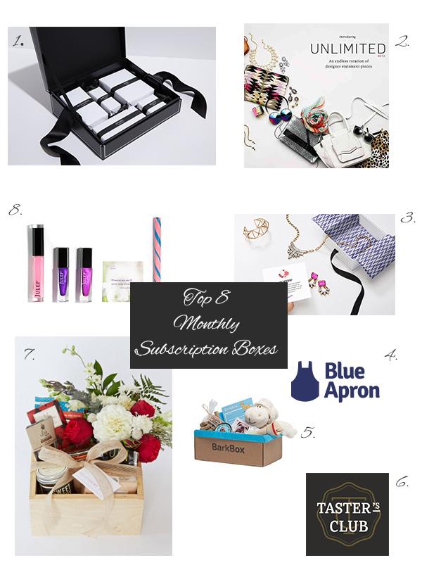 A Little Something Different, Gift Guide, Holiday, Subscriptions