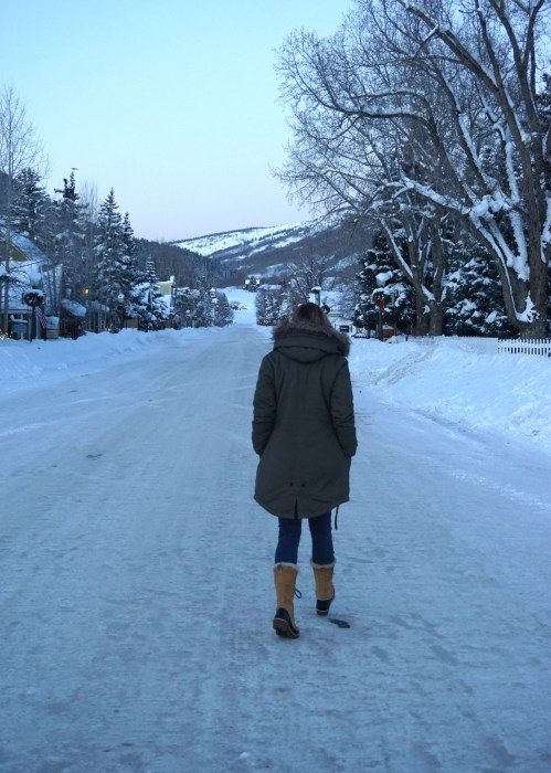 Crested Butte, Colorado, Street Style, Impossibly Imperfect, Travel, Travel Blog, What to Wear, OOTD, Parka, Sorell boots, Snow