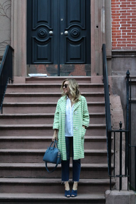Details, Street Style, Givenchy, Vintage, Blue, Madewell, ootd