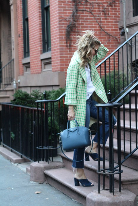 Details, Street Style, Givenchy, Vintage, Blue, Madewell, what to wear