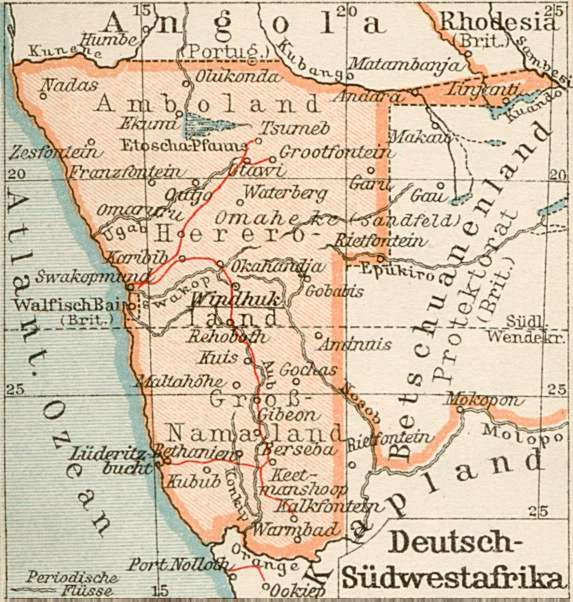 25121914 german south west africa the clock is ticking world in europe some soldiers may be putting aside their differences and enjoying temporary truces with the enemy but in southern africa the war continues as gumiabroncs Image collections