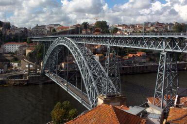 Ponte Luís I oben