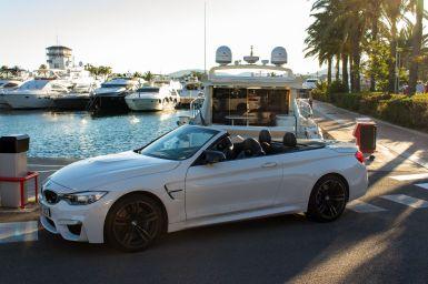 BMW M3 im Hafen Malorca
