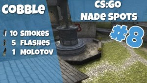CS:GO Nade Spots Cobble