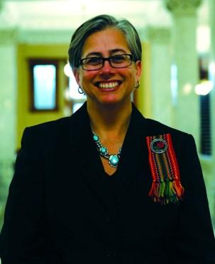 MNO President Margaret Froh